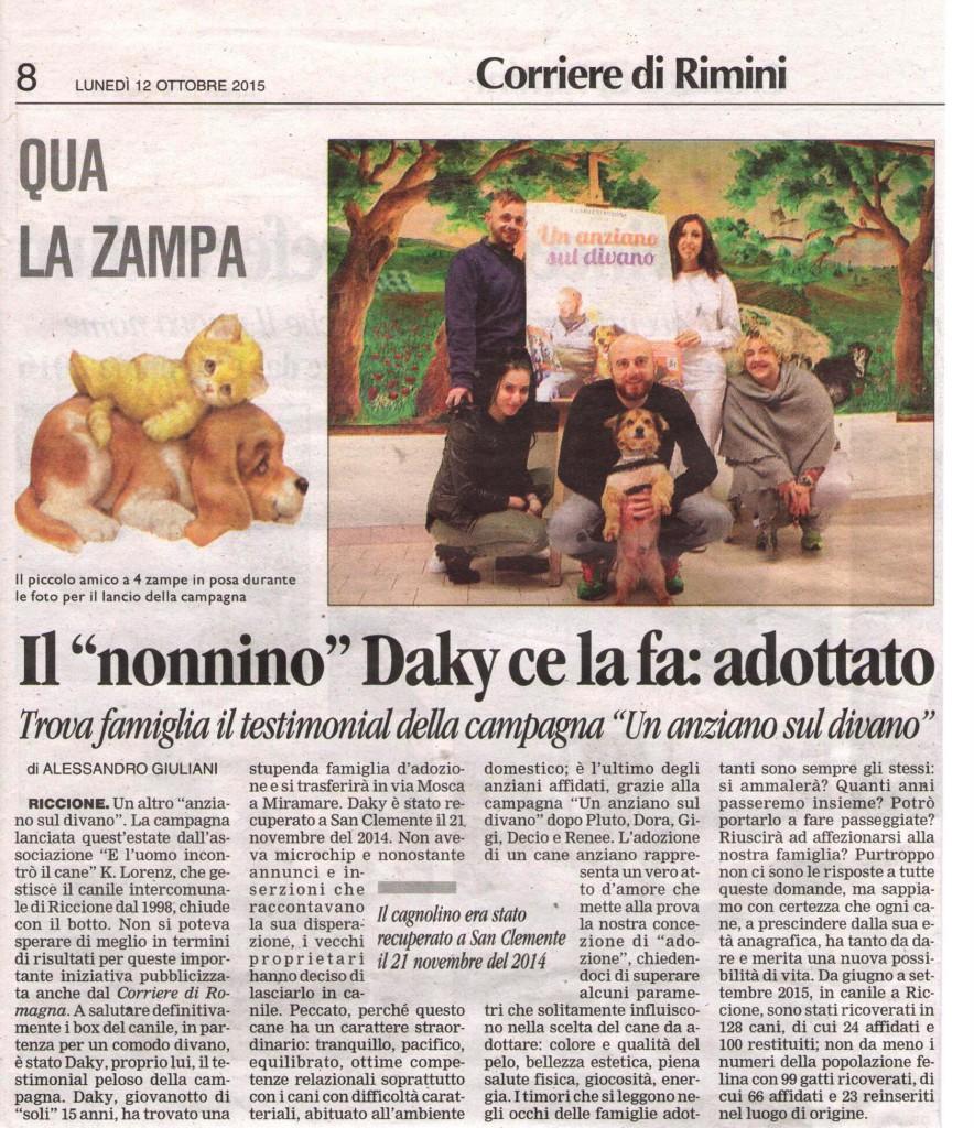 Corriere Daky
